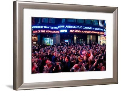 News of Bin Laden II-Erin Berzel-Framed Photographic Print