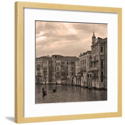 Gondolas and Palazzos III-Rita Crane-Framed Photographic Print