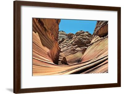 Wave Entrance-Larry Malvin-Framed Photographic Print