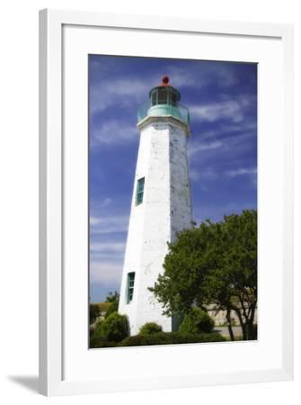 Old Point Comfort Light I-Alan Hausenflock-Framed Photographic Print