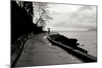 Walking in the Rain-Erin Berzel-Mounted Photographic Print