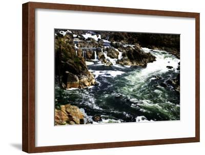 Great Falls I-Alan Hausenflock-Framed Photographic Print