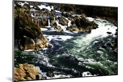 Great Falls I-Alan Hausenflock-Mounted Photographic Print