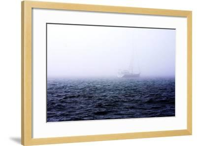 Fog on the Bay I-Alan Hausenflock-Framed Photographic Print