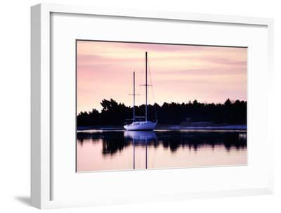 At Anchor I-Alan Hausenflock-Framed Photographic Print