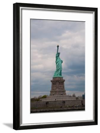 Statue of Liberty II-Erin Berzel-Framed Photographic Print