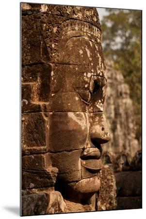 Bayon Face II-Erin Berzel-Mounted Photographic Print
