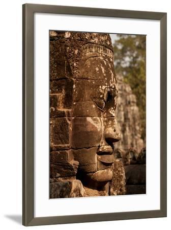 Bayon Face II-Erin Berzel-Framed Photographic Print