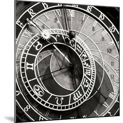Prague Clock I-Jim Christensen-Mounted Photographic Print