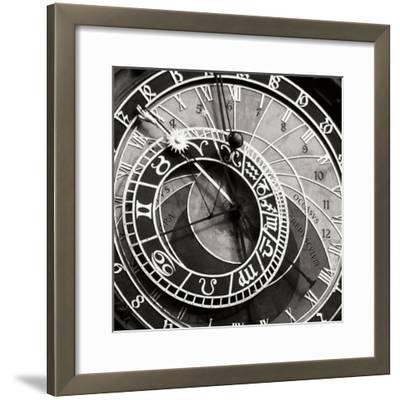 Prague Clock I-Jim Christensen-Framed Photographic Print