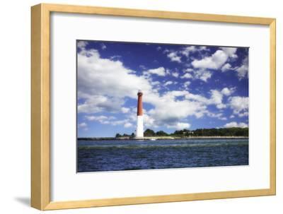 Barnegat Bay Light I-Alan Hausenflock-Framed Photographic Print