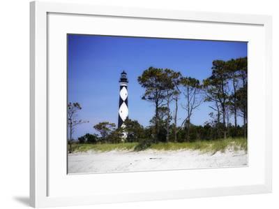 Cape Lookout Light III-Alan Hausenflock-Framed Photographic Print