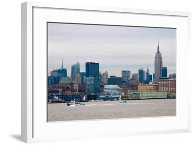 NYC Pier 57 II-Erin Berzel-Framed Photographic Print