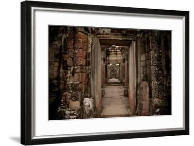 Preah Khan IV-Erin Berzel-Framed Photographic Print