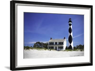 Cape Lookout Light I-Alan Hausenflock-Framed Photographic Print