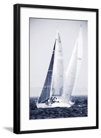 Summertime Race 5-Alan Hausenflock-Framed Photographic Print