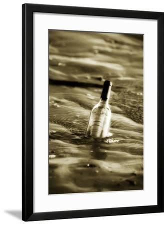 Message in a Bottle II-Alan Hausenflock-Framed Photographic Print