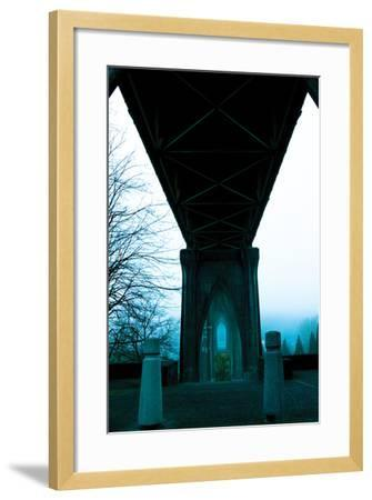 St. Johns Arches III-Erin Berzel-Framed Photographic Print