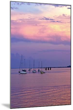 St. Augustine Harbor Sunset 4-Alan Hausenflock-Mounted Photographic Print