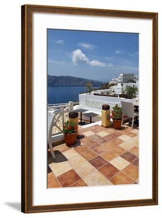 Terra Cotta Deck Caldera-Larry Malvin-Framed Photographic Print
