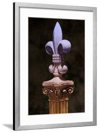 Fleur de Lis III-C^ McNemar-Framed Photographic Print