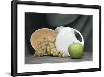 Pitcher with Fruit I-C^ McNemar-Framed Photographic Print