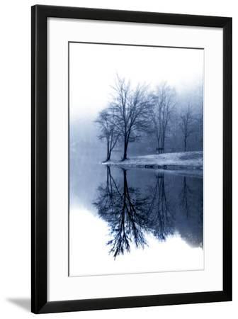 Fog on the Lake I-Alan Hausenflock-Framed Photographic Print