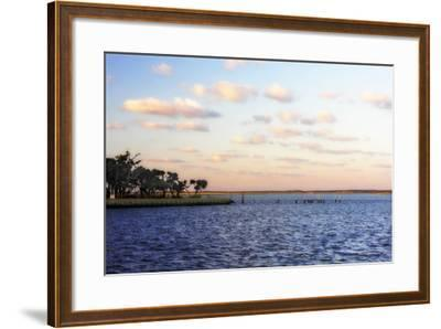 Sunset in the Channel II-Alan Hausenflock-Framed Photographic Print
