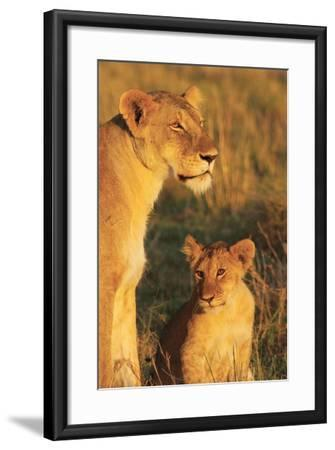 My Mom and I-Susann Parker-Framed Photographic Print