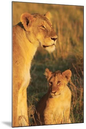 My Mom and I-Susann Parker-Mounted Photographic Print