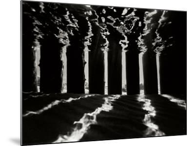 Pier Pilings 4-Lee Peterson-Mounted Photographic Print