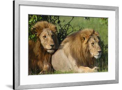 The Duo-Susann Parker-Framed Photographic Print