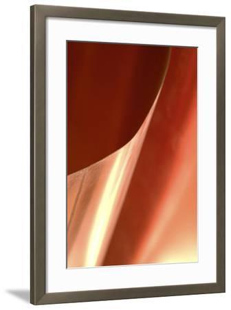 Copper Curves II-Karyn Millet-Framed Photographic Print