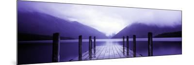 Serene Dock I-Bob Stefko-Mounted Photographic Print