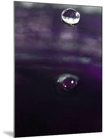 Grape Drink Drop IV-Tammy Putman-Mounted Photographic Print
