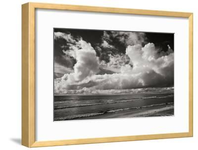 Clouds at the Beach-Lee Peterson-Framed Photographic Print