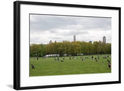 Spring in Central Park-Erin Berzel-Framed Photographic Print