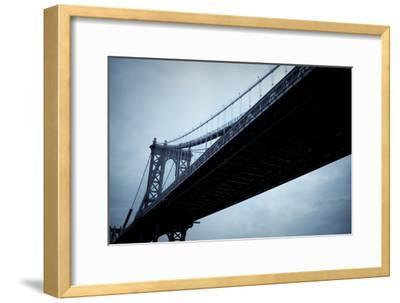 Manhattan Bridge I-Erin Berzel-Framed Photographic Print