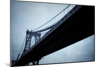 Manhattan Bridge I-Erin Berzel-Mounted Photographic Print