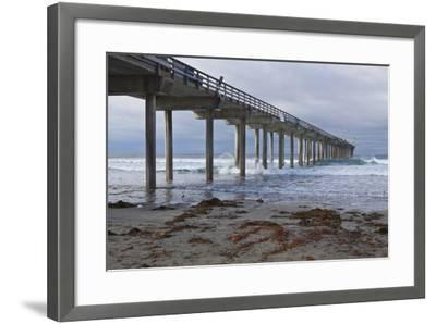 Scripps Pier II-Lee Peterson-Framed Photographic Print
