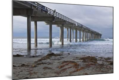 Scripps Pier II-Lee Peterson-Mounted Photographic Print