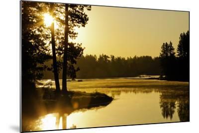 Winchester Lake II-Bob Stefko-Mounted Photographic Print