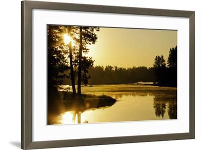 Winchester Lake II-Bob Stefko-Framed Photographic Print