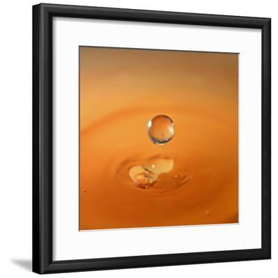 Tomato Soup Drop I-Tammy Putman-Framed Photographic Print