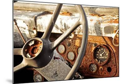 Old Bus II-Brian Kidd-Mounted Photographic Print