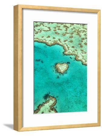 Heart Reef I-Larry Malvin-Framed Photographic Print