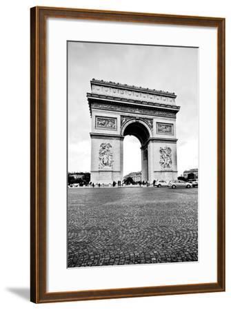 Ave Champs Elysees V-Erin Berzel-Framed Photographic Print