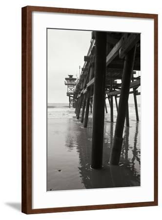 Pier Pilings 17-Lee Peterson-Framed Photographic Print