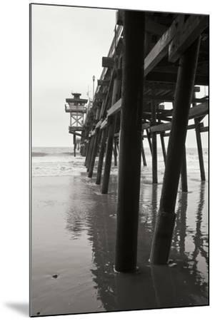 Pier Pilings 17-Lee Peterson-Mounted Photographic Print