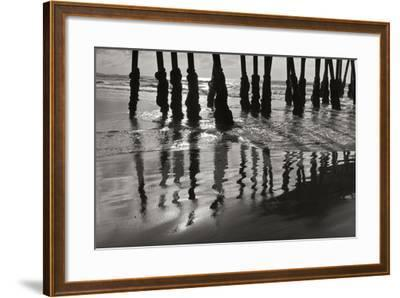 Pier Pilings 13-Lee Peterson-Framed Photographic Print